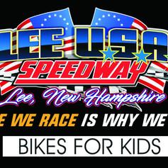 Bikes for Kids at Lee Speedway