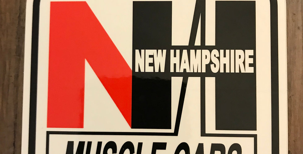 NH Muscle Cars Decal
