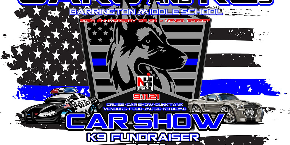"""""""Cars and K9s"""" at Barrington Middle School"""