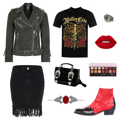 OUTFIT OF THE DAY: WESTERN RED