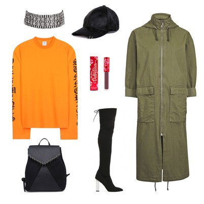 OUTFIT OF THE DAY: LONGLINE PARKA