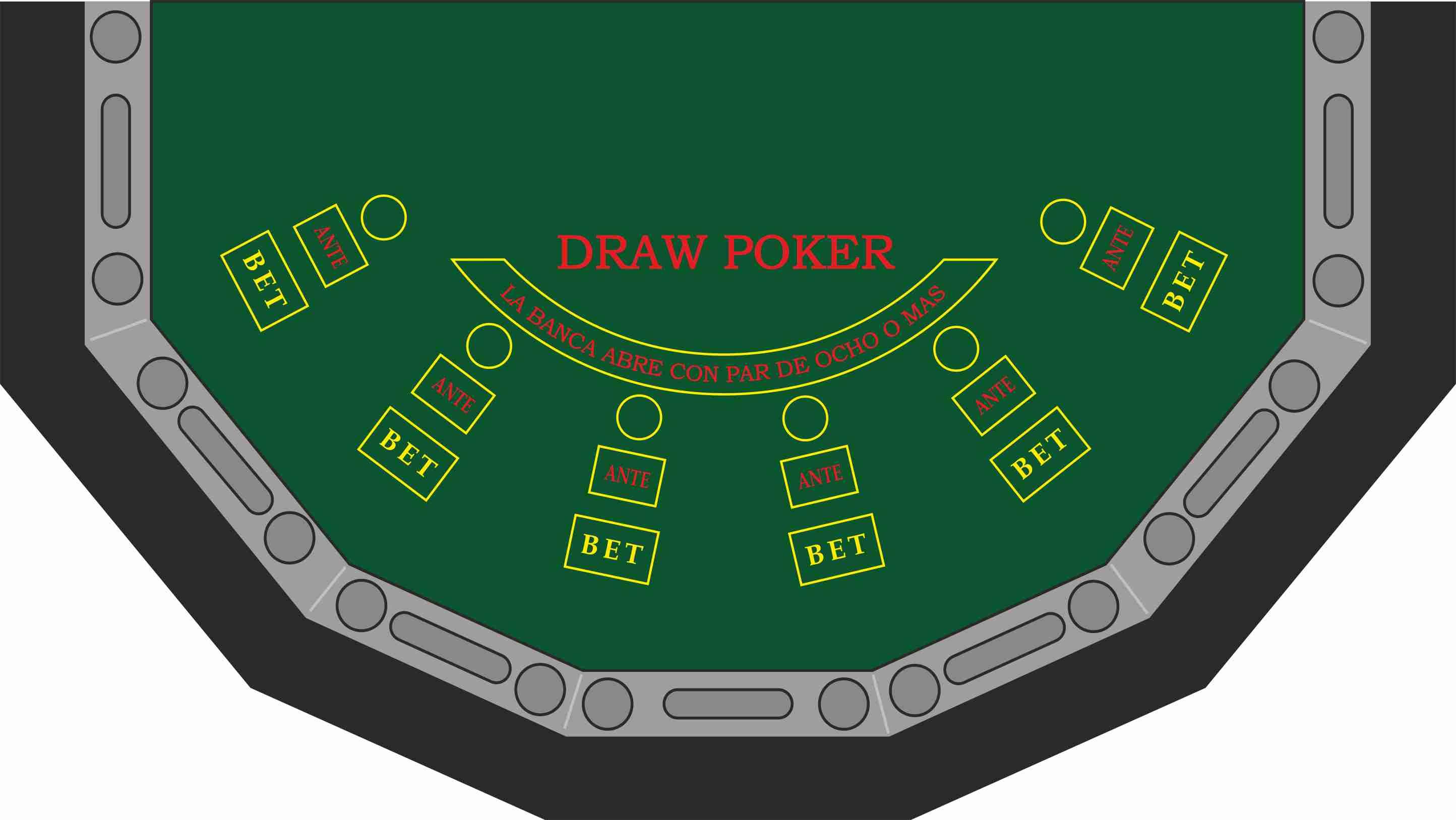 Draw Poker 6 jugadores