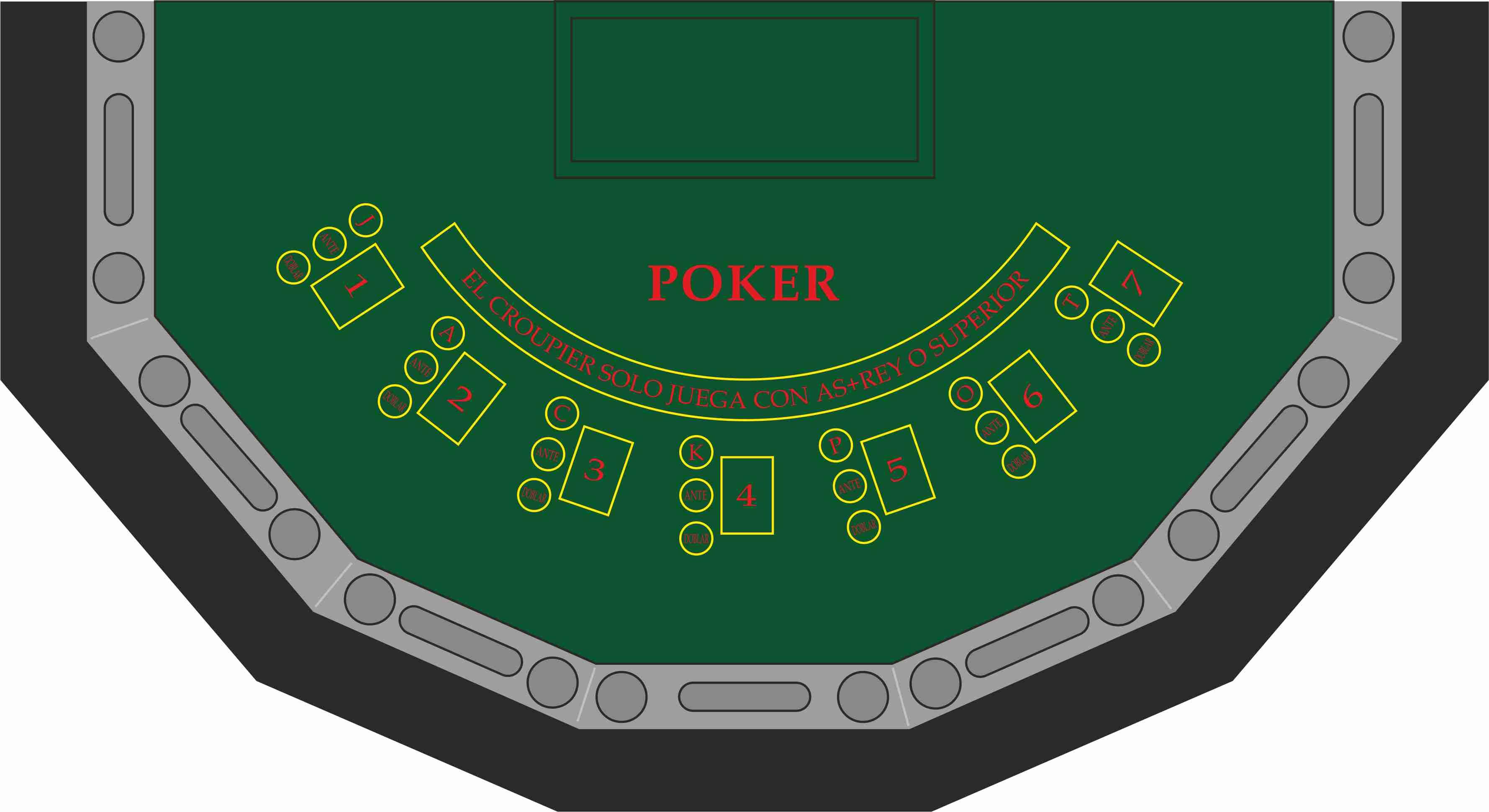 Draw Poker 7 jugadores