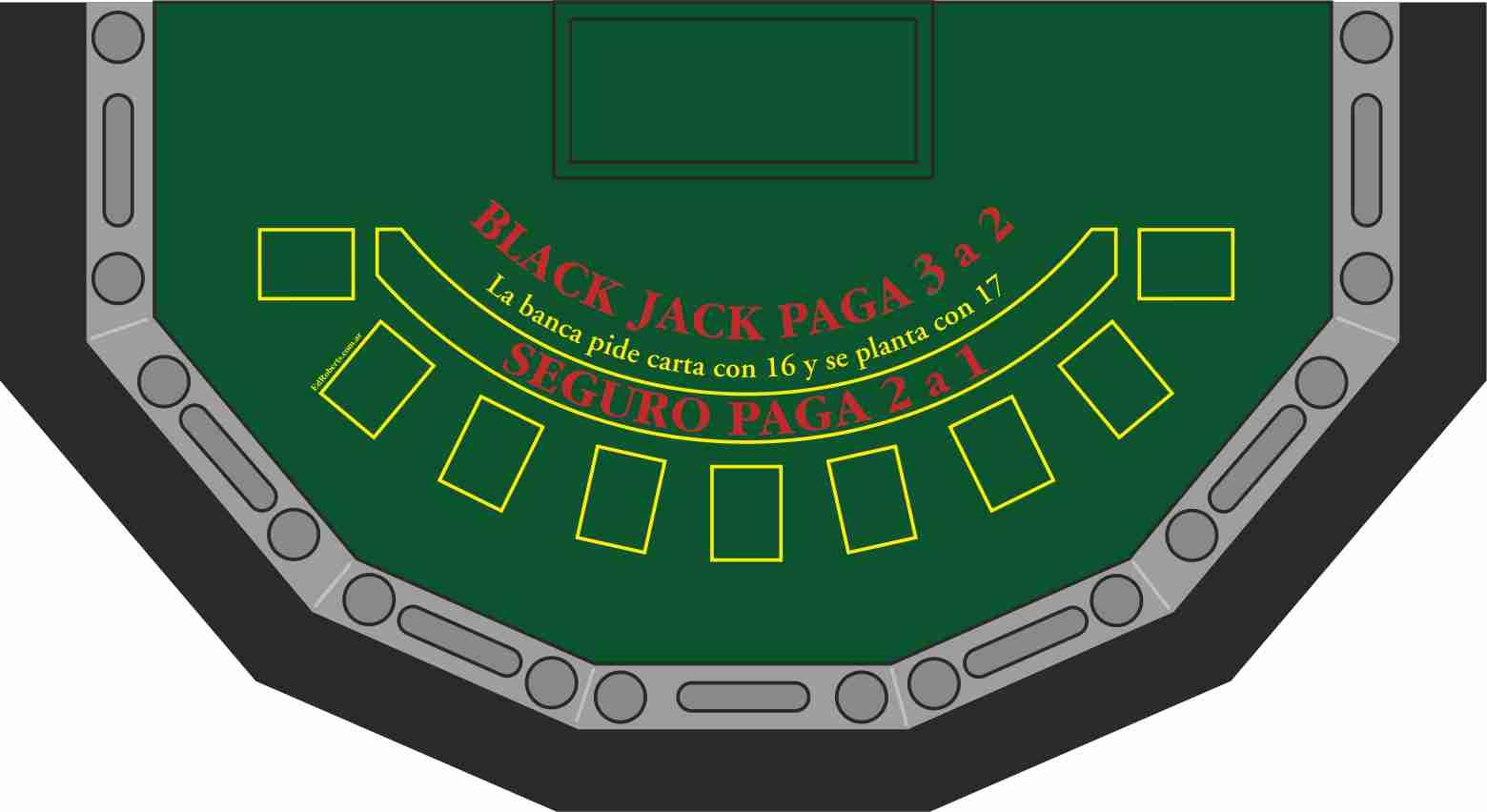 Black Jack 9 jugadores