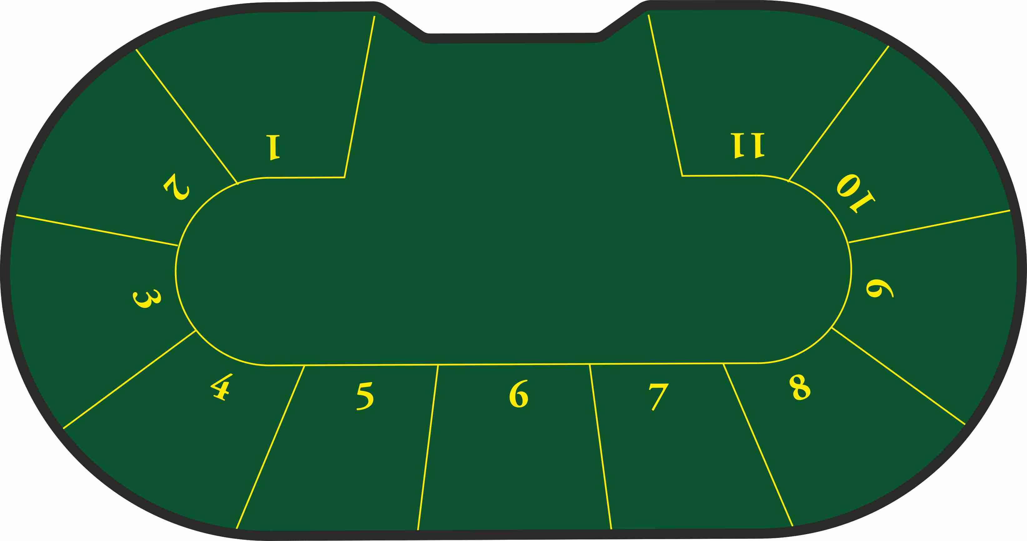 Poker Texas Hold´em 11 jugadores