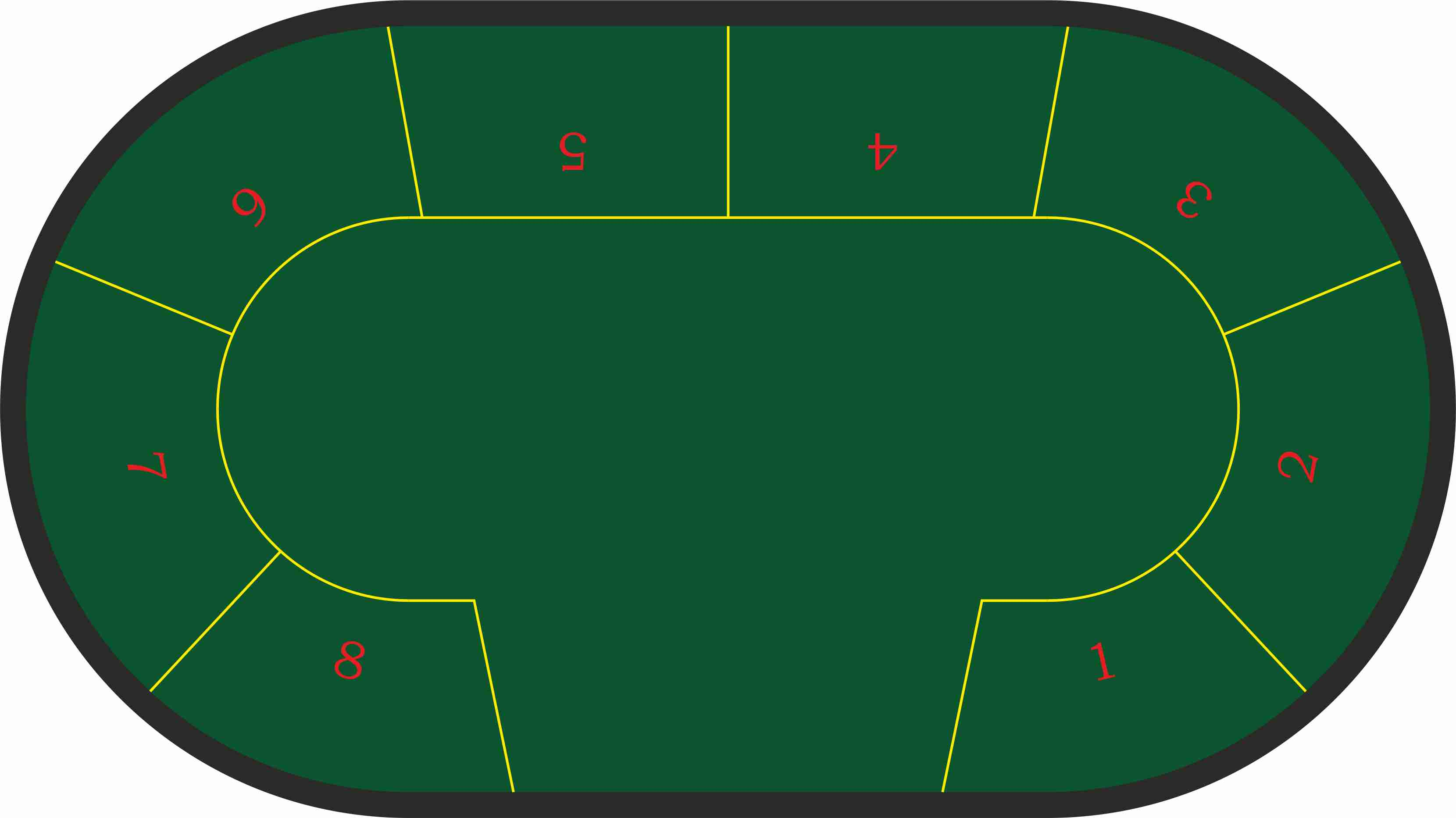 Poker Texas Hold´em 8 jugadores