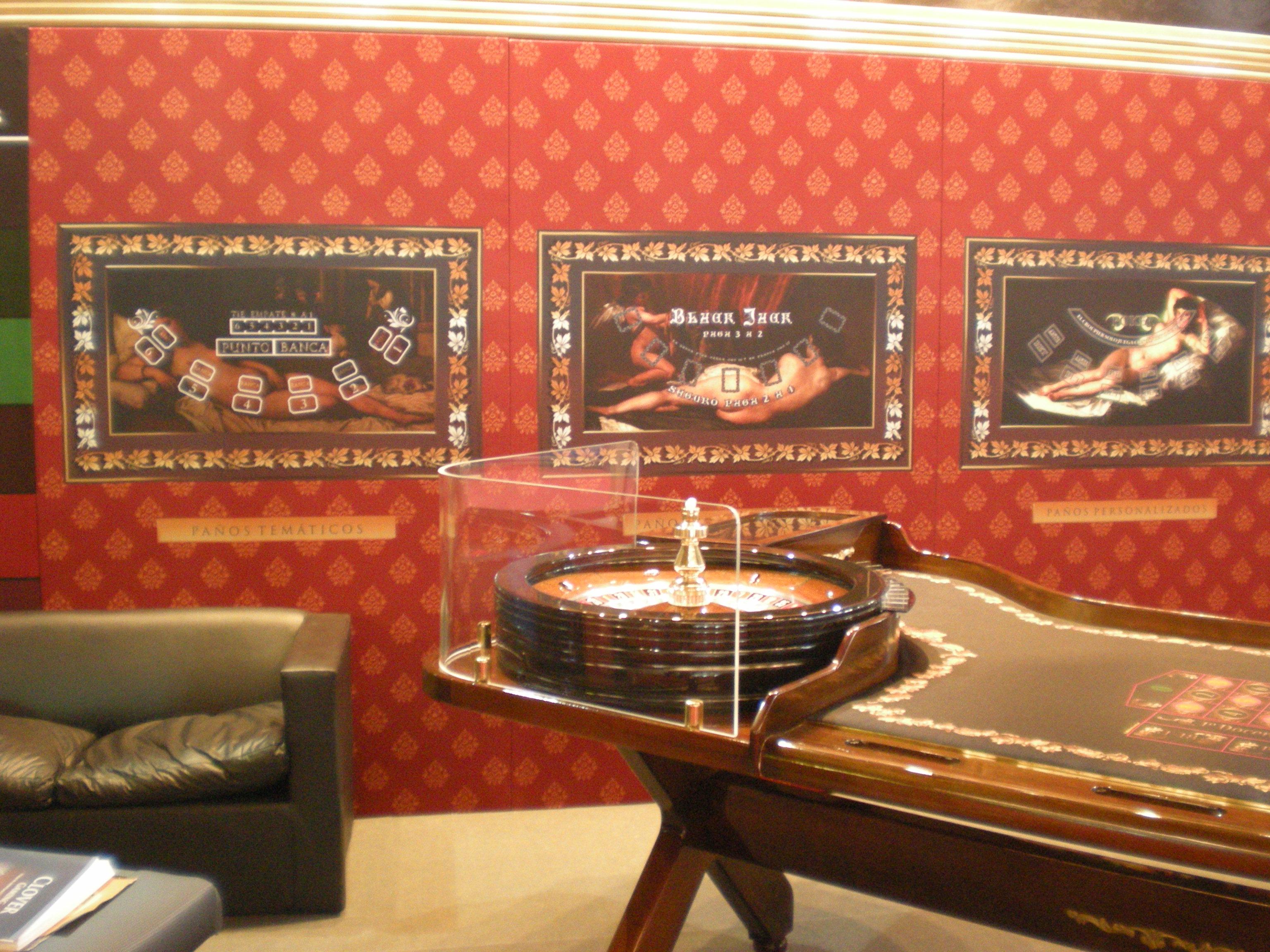 Decoración Para Casinos Ed Roberts Sa