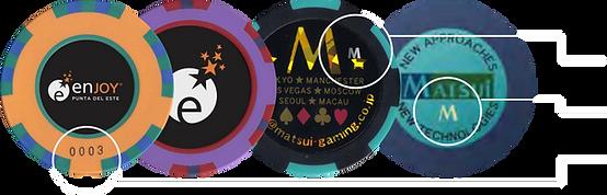 fichas personalizadas casino poker seguridad