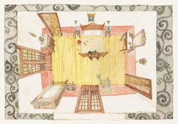 El dormitório de Matilde y Guillermo