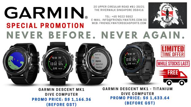 Garmin Descent MK1 Special Promotion