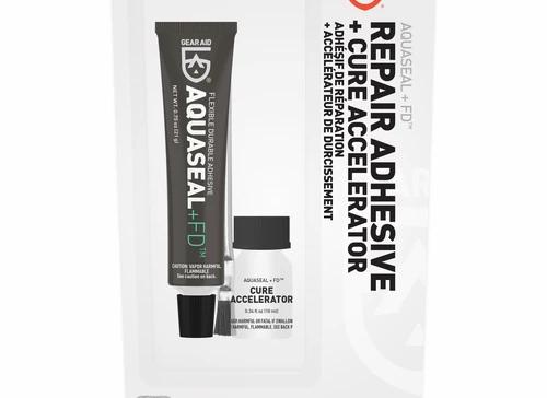Aquaseal FD Repair Adhesive and Cure Accelerator