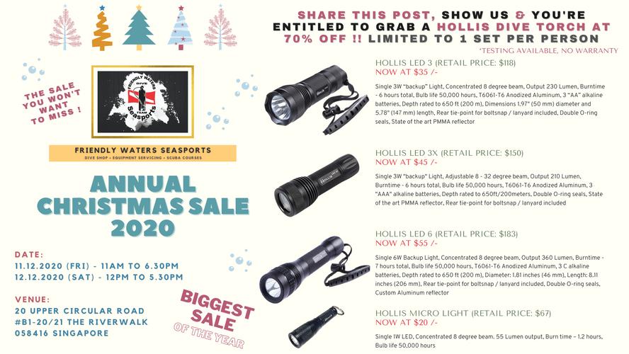 Annual Christmas Sale 2020