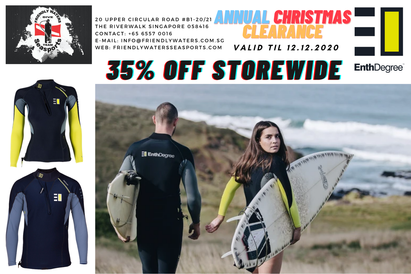 Annual Christmas Clearance - Enth Degree Technical Performance Wear