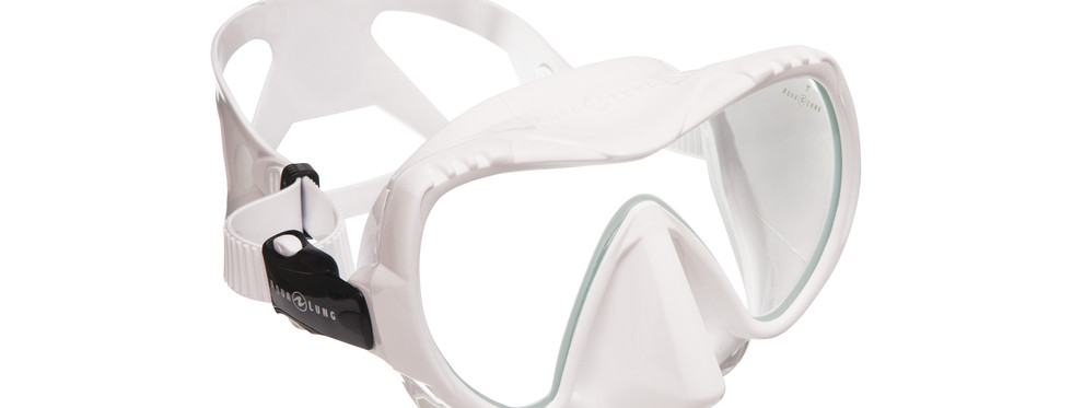 Mission Mask - MIDI White_White Silicone
