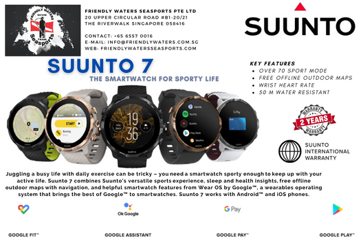 Suunto 7 - Smartwatch with versatile sports experience