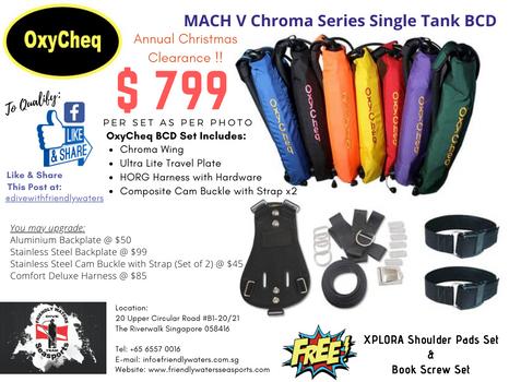 Annual Christmas Clearance - MACH V Chro
