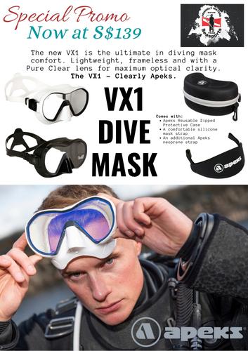 Apeks VX1 Dive Mask