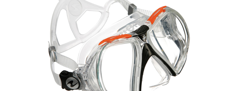 Infinity - Clear Silicone_Orange