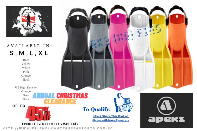 Annual Christmas Sale - Apeks RK3 Jetfin