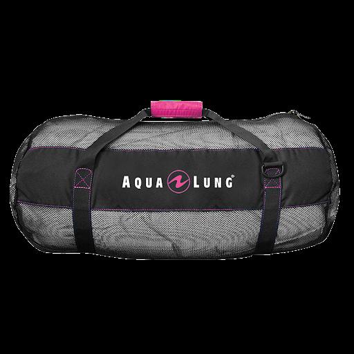 Aqua Lung Arrival Mesh Bag (Black/Pink)