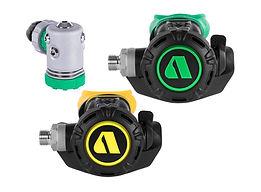 XL4 green x Nitrox 1st stage x octopus.j