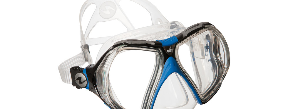 Infinity - Clear Silicone_Blue