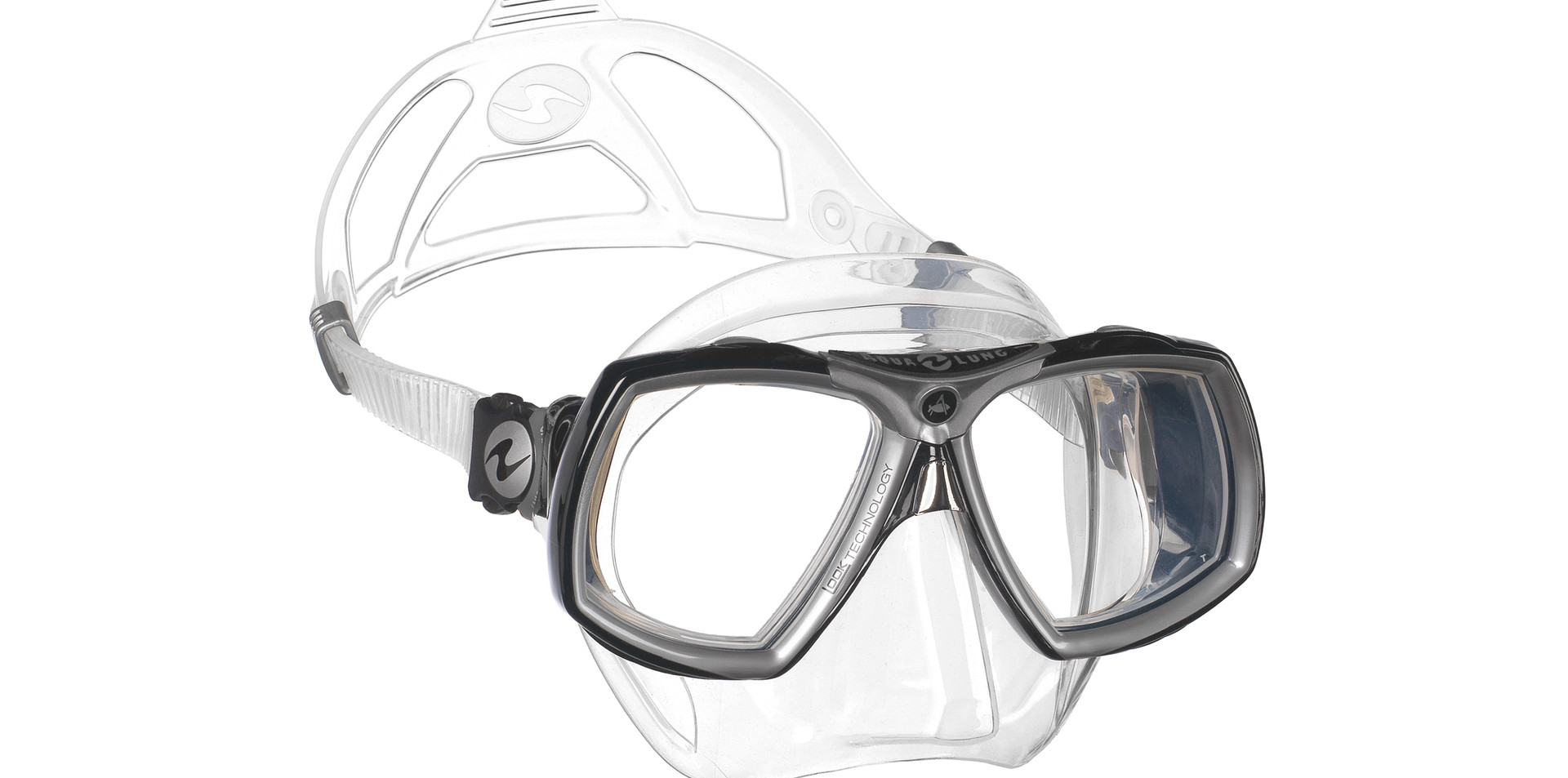 Look 2 - Clear Silicone Black W_ Silver