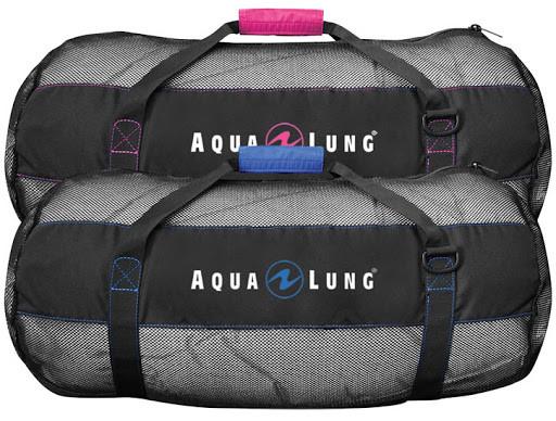 Aqua Lung Arrival Mesh Bag (Black/Pink,