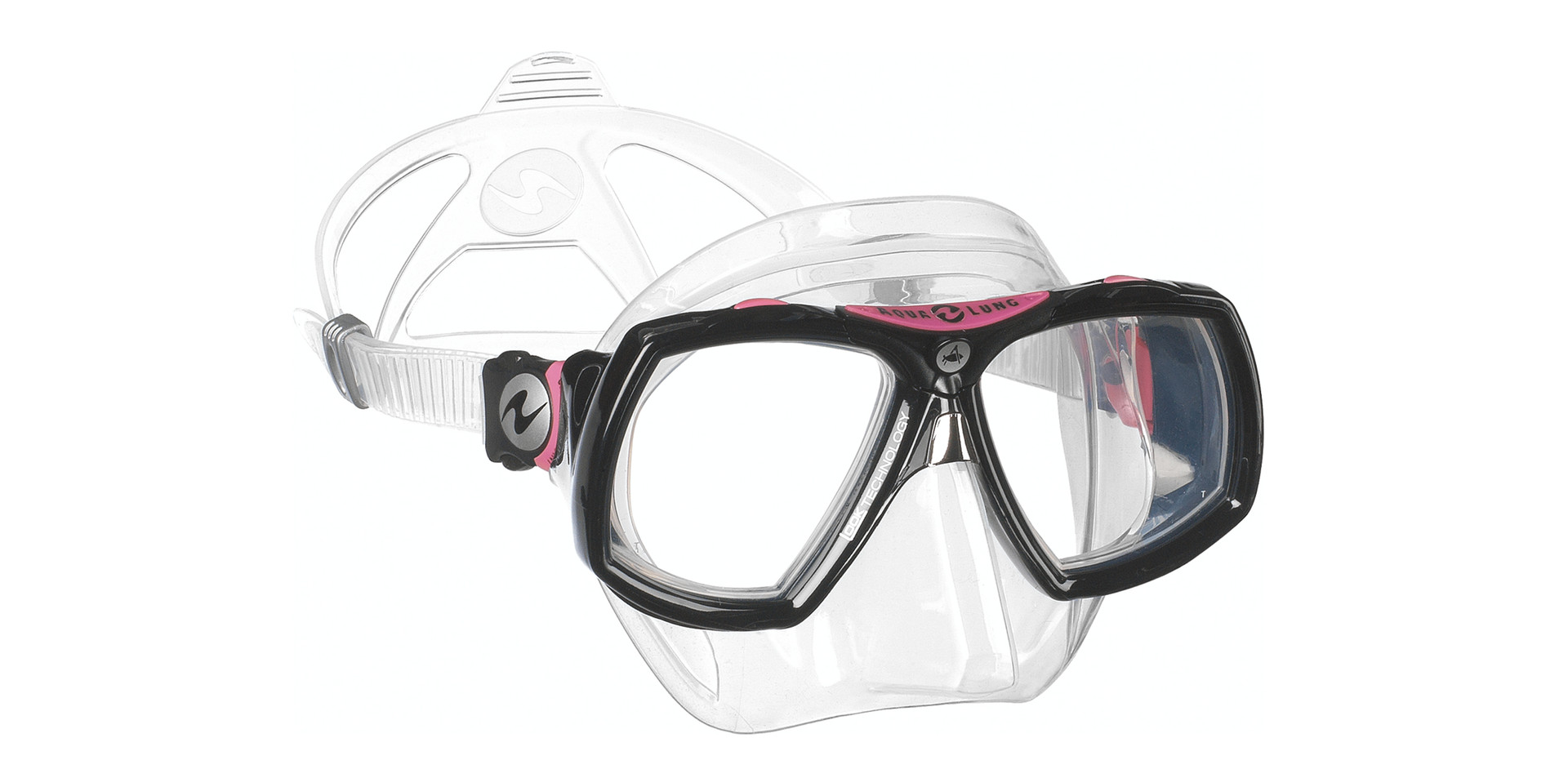 Look 2 MIDI - Clear Silicone Black _ Pink