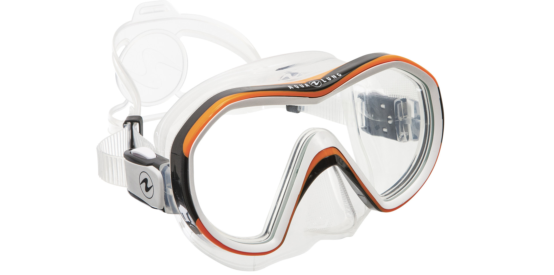 Reveal X1 - Clear Silicone_Black+Orange Frame