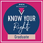 Kim Know Your Rights Graduate