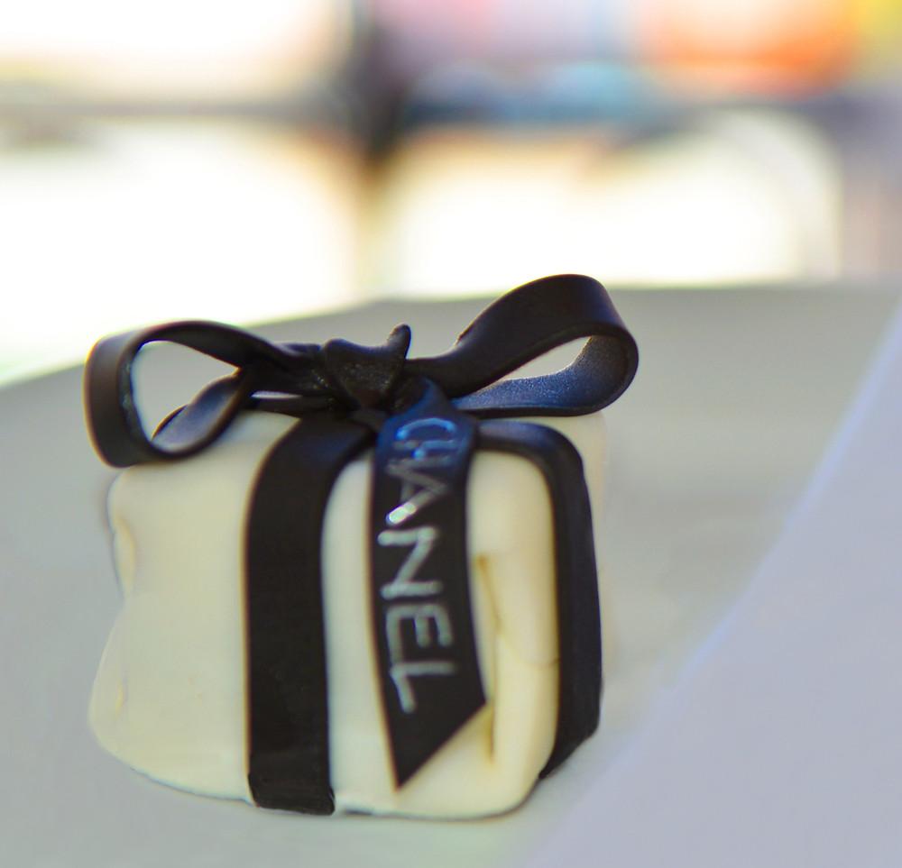 Chanel truffle cake