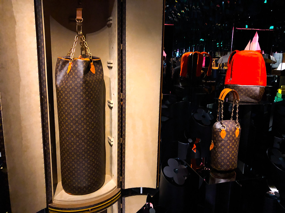 LOUIS VUITTON PUNCHING BAG