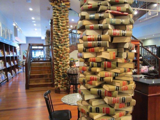 Bookstore book column