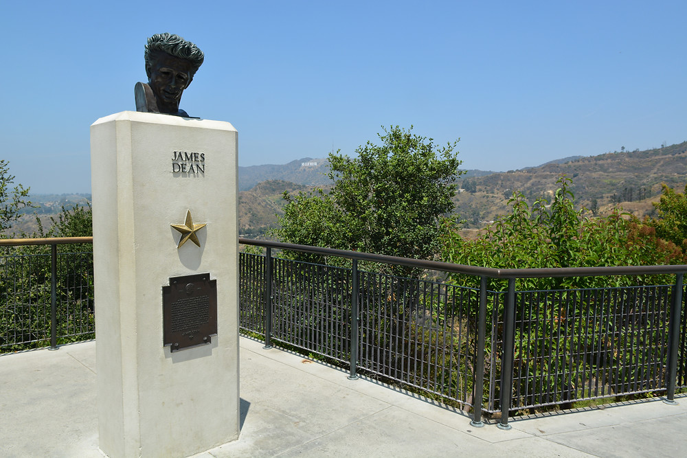 James Dean at Griffith Park Observatory