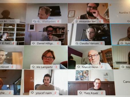 Videokonferenz nach Festnahmen in Kelmis
