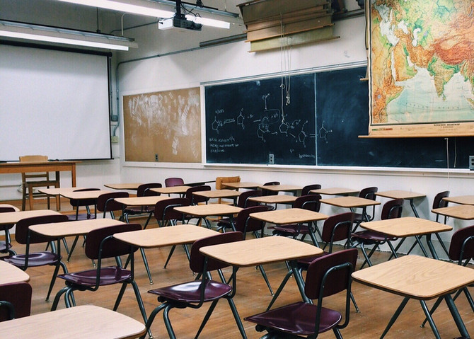 Wegen Covid-19 Fall ist die Gemeindeschule Kelmis geschlossen.