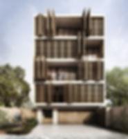 collective housing, vivienda intraubana, arquitectura mexicana cancun
