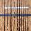Thumbnail: (ITEM#: FB022) Piranha Rod Rack Wall Mount : Fits 11-14 rods [Wholesale]