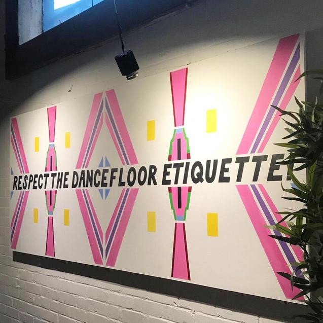 Dancefloor Etiquette