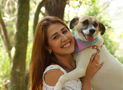 {Mãe de Cachorro Também é Mãe}: Hope & Natasha.