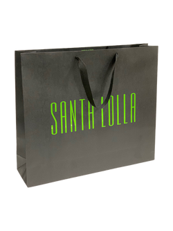 Sacola em papel Santa Lolla