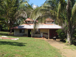 caretakers/ guest house and garage