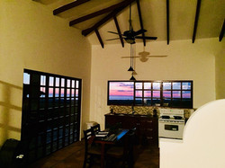 Kitchen-sunset