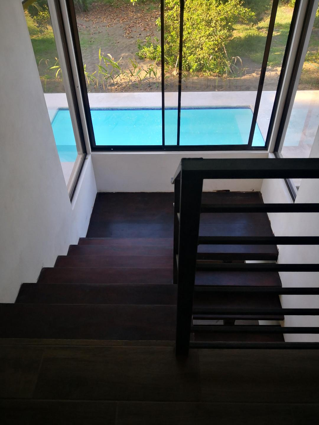 stairs pool