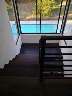 stairs pool