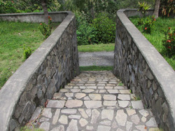 stairs to 360 degree view site