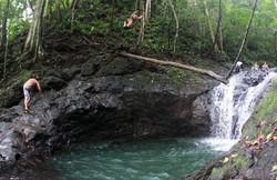 Las Pilas Waterfall in Parrita