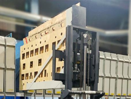 Подольский филиал АО «Архбум» завершил модернизацию стеллажных систем хранения для штанцформ