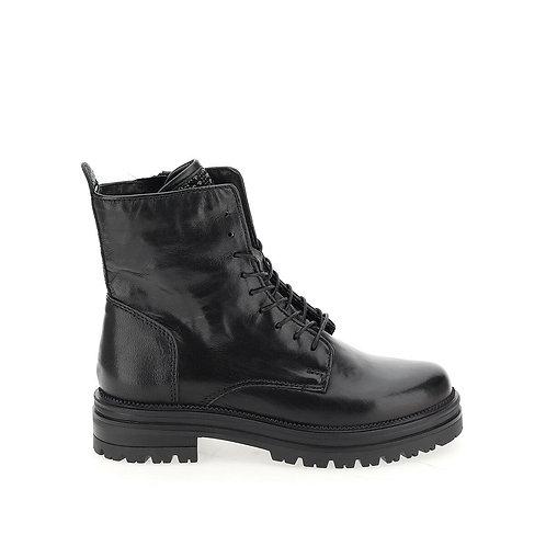 Boots cuir à lacets